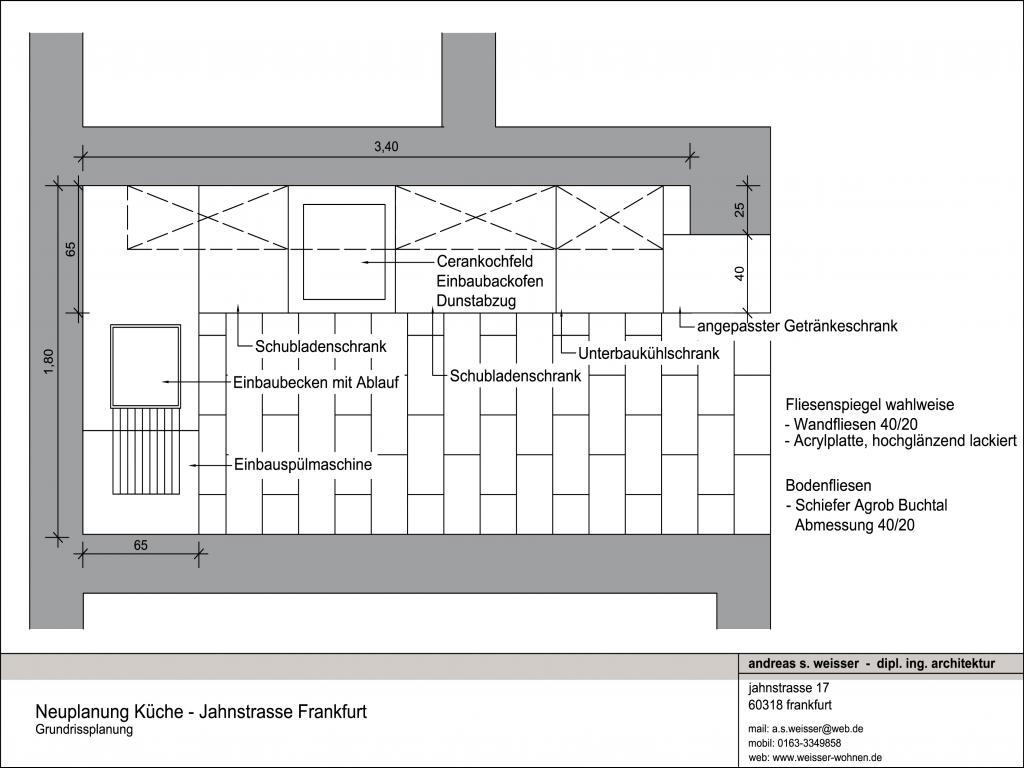 einrichtungsplanung jahnstrasse - frankfurt - andreas s. weisser